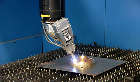 Machining with 3D laser cutting technology